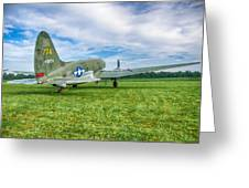 C-46 Commando Tinker Belle 3785h Greeting Card