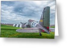 C-47-w7 7d06 Greeting Card