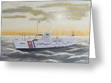 C G  40300 On Patrol Greeting Card