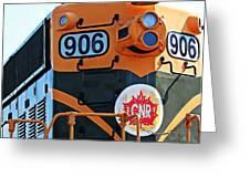 C N R Train 906 Greeting Card