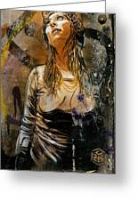 C215 Beautiful Model Greeting Card