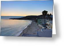 Ca Beach - 121228 Greeting Card