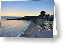 Ca Beach - 121229 Greeting Card