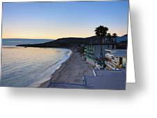 Ca Beach - 121230 Greeting Card
