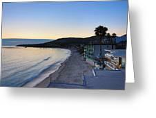 Ca Beach - 121231 Greeting Card