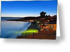 Ca Beach - 121240 Greeting Card