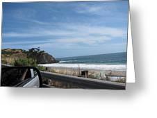 Ca Beach - 12127 Greeting Card