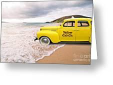 Cab Fare To Maui Greeting Card