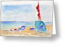 Cabana Time Greeting Card