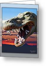 Cabazon Dinosaur Greeting Card