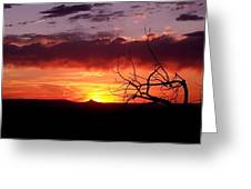 Cabazon Sunset Greeting Card