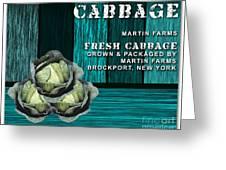 Cabbage Farm Greeting Card