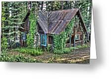 Cabin At Cooks Station Greeting Card