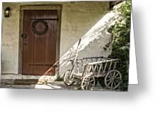Cabin Door Greeting Card