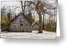 Cabin Dream Greeting Card