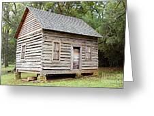 Cabin In Pittsboro Nc Greeting Card