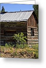 Cabin In The Wilderness Greeting Card