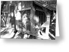 Cabin In The Wood Greeting Card