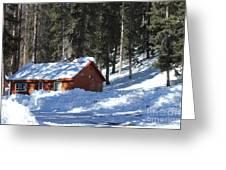 Cabin On Grand Mesa Co Greeting Card