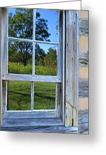 Cabin Reflections Greeting Card