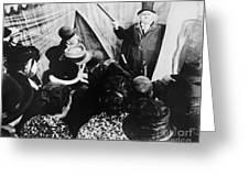 Cabinet Of Dr. Caligari Greeting Card