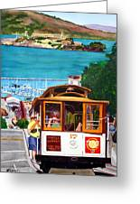 Cable Car No. 17 Greeting Card