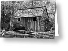 Cable Grist Mill 1 Greeting Card by Mel Steinhauer
