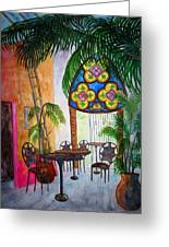 Cabo Cafe Greeting Card