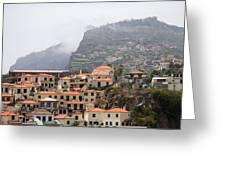 Cabo Girao Madeira Portugal Greeting Card