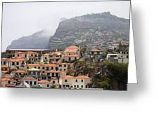 Cabo Girao Madeira Portugal Greeting Card