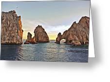 Cabo San Lucas Arch Sunset Greeting Card