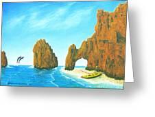 Cabo San Lucas Mexico Greeting Card