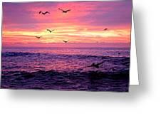 Cabo San Lucas Sunrise Greeting Card