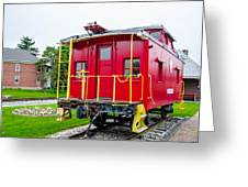 Caboose 476582 Greeting Card