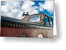 Caboose Roof Greeting Card
