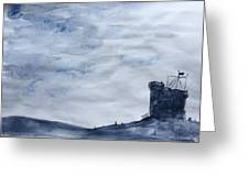 Cabot Tower Greeting Card