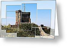 Cabot Tower Montage Greeting Card