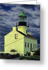 Cabrillo National Monument Lighthouse No 1 Greeting Card