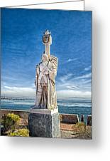 Cabrillo National Monument - Point Loma California Greeting Card