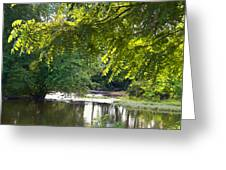 Cacapon River On  127 Greeting Card