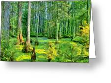 Cache River Swamp Greeting Card
