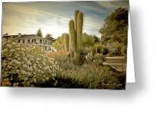 Monterey California Cactus Garden Greeting Card
