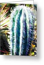 Cactus Pillar Greeting Card