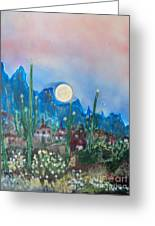 Cactus Valley Greeting Card