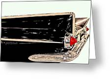 1959 Buick Electra 225 Fins Greeting Card