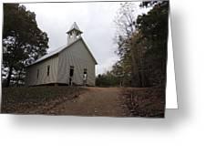 Cades Cove Church Greeting Card