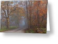 Cades Cove Color Greeting Card