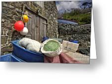 Cadgwith Fishing Paraphernalia  Greeting Card
