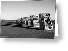 Cadillac Ranch Greeting Card