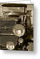 Cadillac Roadster 1930 Greeting Card
